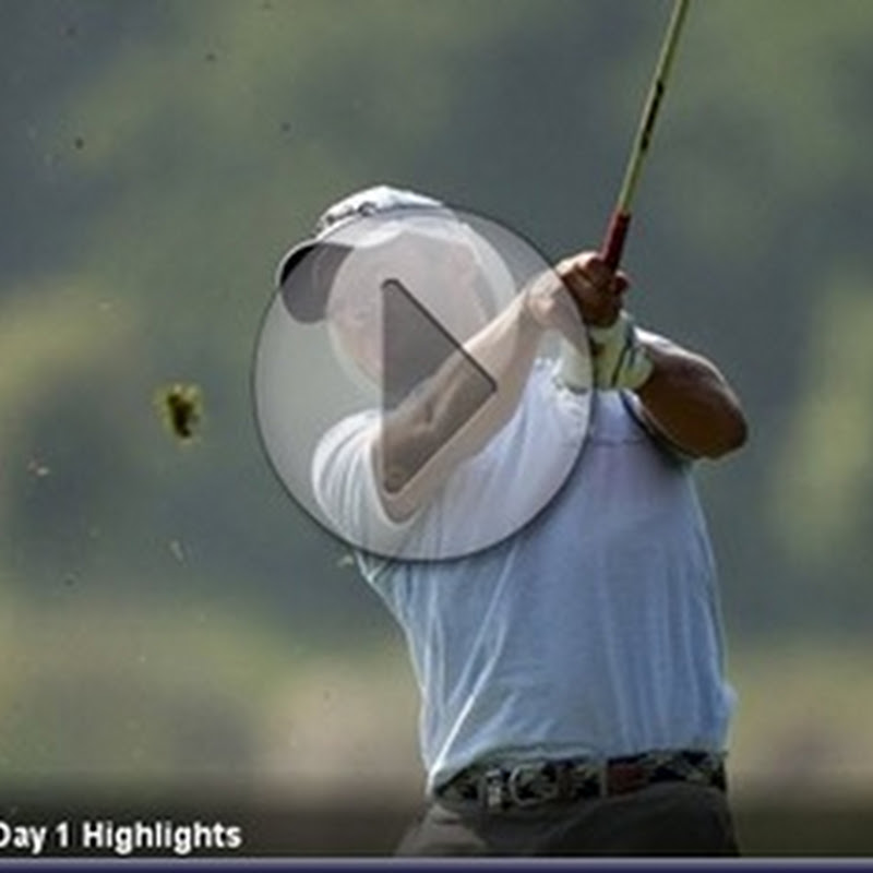 2011 Open de Espana First Round Highlights and Leaderboard