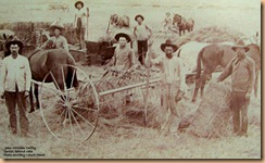 Copy of John William Coffey &amp; Workers on Farm