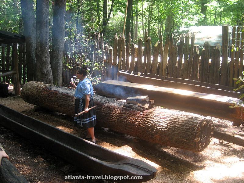 Резервация индейцев чероки Cherokee Indians Reservation
