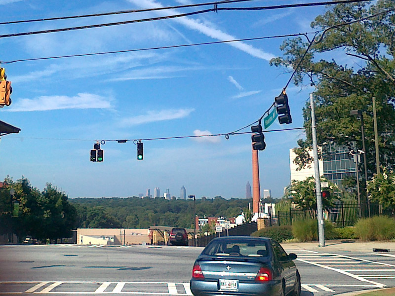 Мобилография в Атланте. Atlanta camera phone pictures.