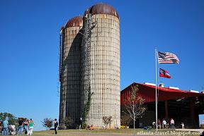 U-pick фермы под Атлантой