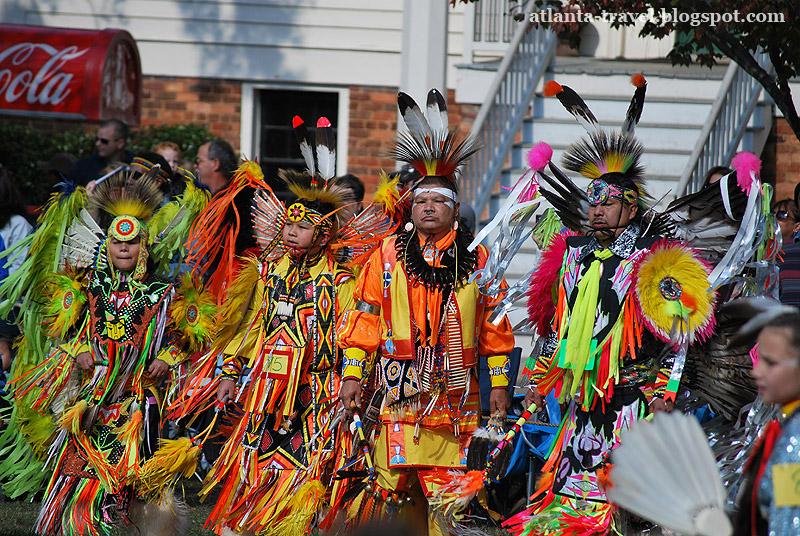 Пау-вау - фотографии индейцев