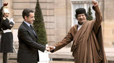 Mohamar khadaffi sarkozy