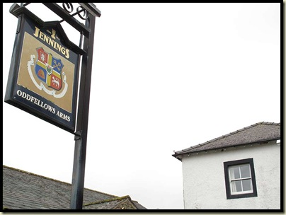 Another pub, another 'walk past'