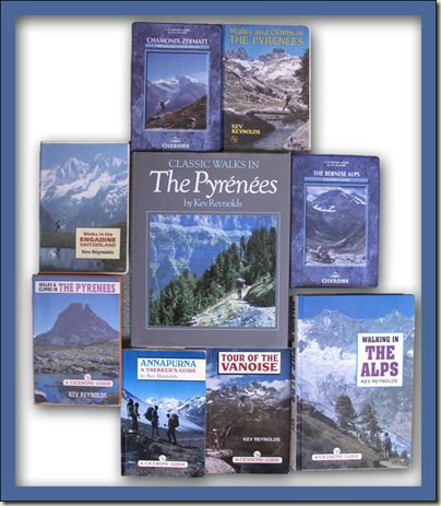 Some books by Kev Reynolds