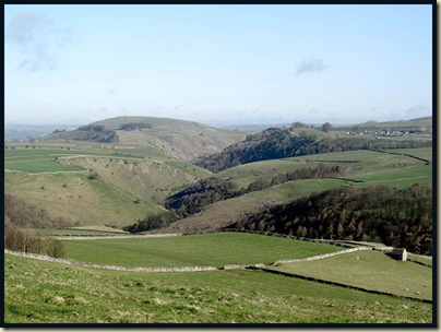 Wolfscote Dale from near Shining Tor