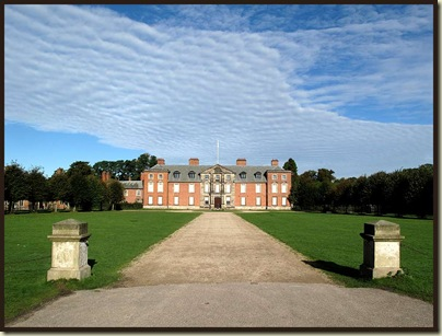 The mansion at Dunham Massey
