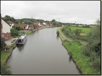 The canal heads towards Runcorn, and the coast