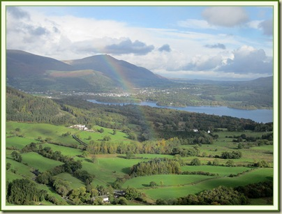Rainbow over Blencathra