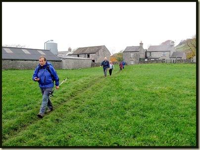 Leaving the village of Litton