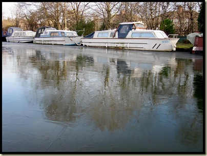 The Bridgewater Canal in Sale