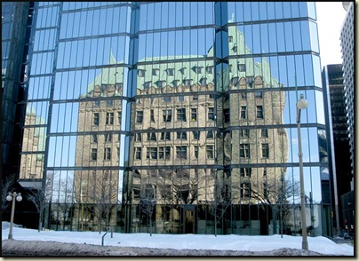 Old versus New in the City Centre of Ottawa
