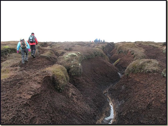 Peat Hags on Kinder Scout