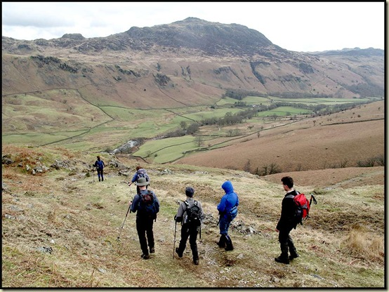 Descending into Eskdale