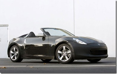 Nissan 370Z Roadster Launch Price Photos Specifications Review Image January 20th 2010