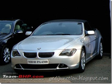 bmw 645 ci at the 2010 super car show at mumbai india by parx xxx sci super car club of india