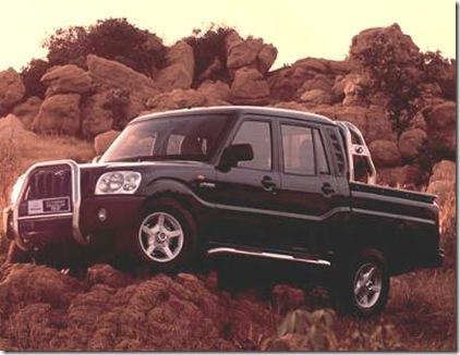 old mahindra pickup scorpio
