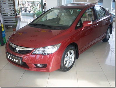 new honda civic india 2010