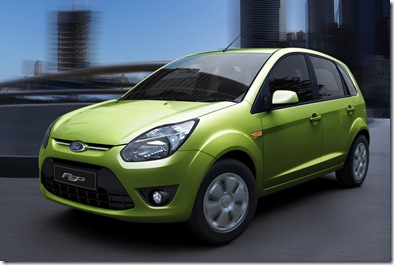 ford figo india unveil launch 2010 small car
