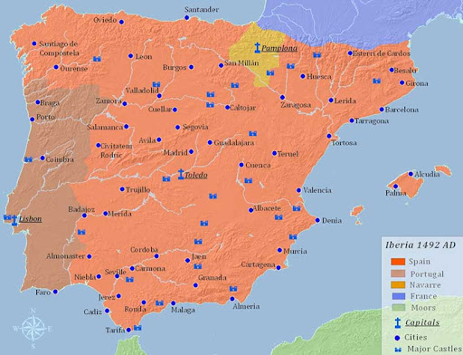 La Reconquista   La Conquista de la Península Ibérica por los Reinos Cristianos: siglo xv siglo xiv siglo xiii siglo xii siglo xi siglo viii siglo ix espana
