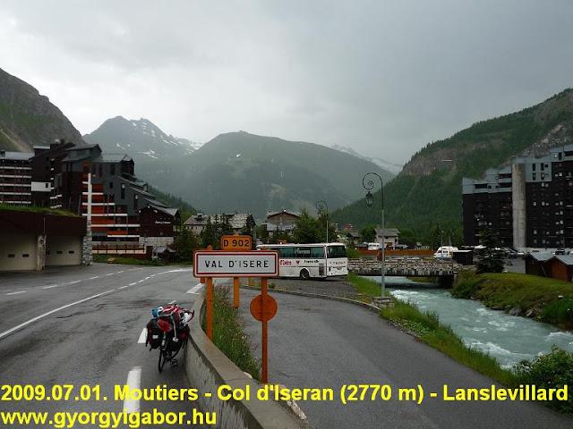 Col d'Iseran ascent, Val d'Isere