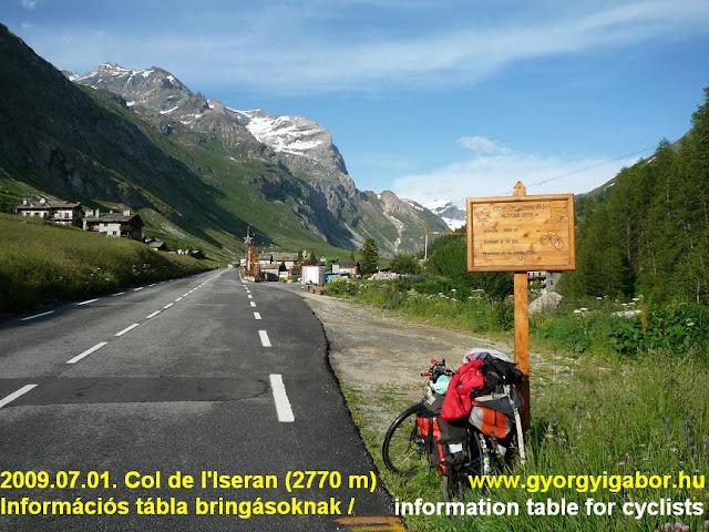 Col d'Iseran, 2770 m & Györgyi Gábor