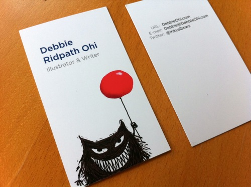 Taking mentorship advice my revamped business cards scbwi bizcard new colourmoves