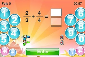 Screenshot of SkoleMat Level 6 gratis