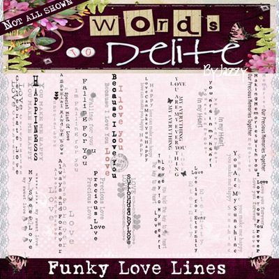 Funky Love Lines preview