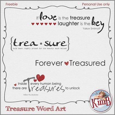 Treasurewordart