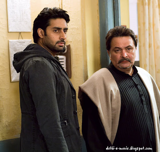 Abhishek bachchan stills in delhi 6 movie