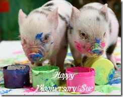Happy Blogiversary Sue
