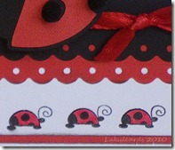 Doodlecharms Ladybird 2 Closeup