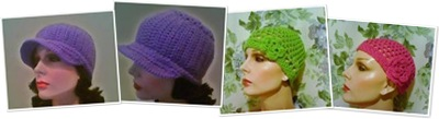 View Crochet Frenzy Hats