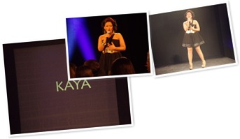 View Singer Kaya opens Edward Asouni Show