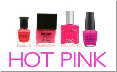 hot-pink-nail-colors