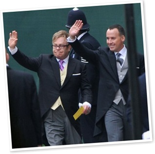 View Sir Elton John and David Furnish