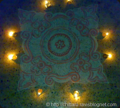 Rangoli_Red_Deepam_5