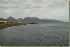 Beagle Channel and Mountains