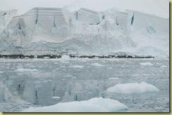 Glacier about to calve