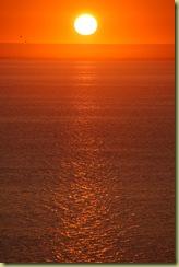 Sun set at Coral Bay