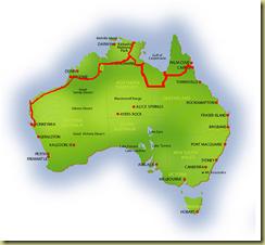 Australia Map Monkey Mia
