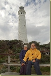 P&P at Cape Leeuwin Lighthouse