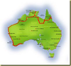 Australia Map Esperance