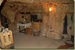 Old underground house
