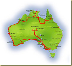 Australia Map Alice Springs