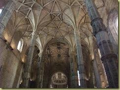 Jerónimos Monastery Pillars