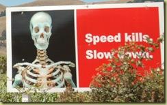 Safety advert