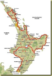 North Island to Wellington