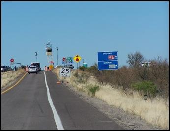Border Patrol Checkpoint North of Nogales, AZ